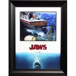 Richard Dreyfus Jaws signed genuine authentic photo display