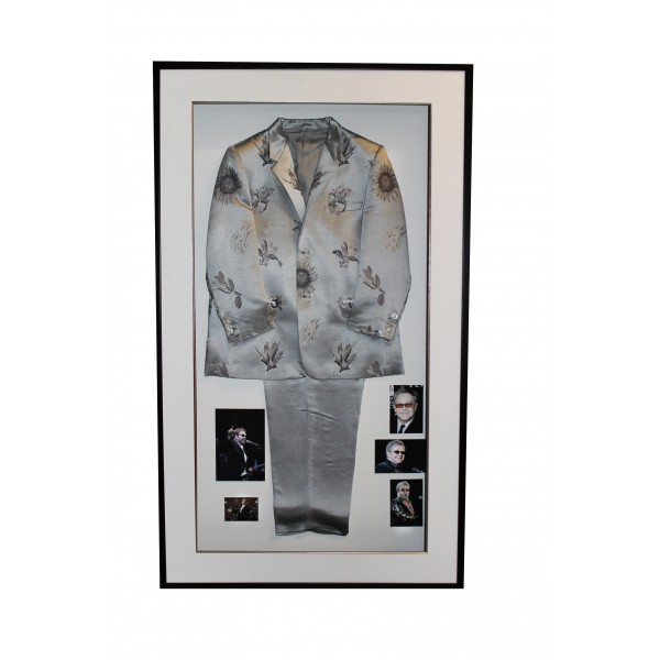 Elton John Versace suit genuine authentic display piece