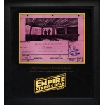 Star Wars Story Board signed by Dave Prowse authentic genuine.