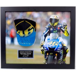 Valentino Rossi The Doctor signed genuine authentic cap display COA