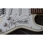 Status Quo Rick Parfitt Francis Rossi authentic genuine signed autograph guitar