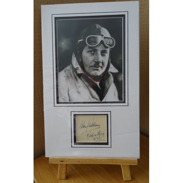 Alan Cobham signed authentic genuine signature autograph display