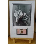 Stan Laurel Over Hardy signed authentic genuine signature autograph display