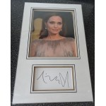 Angelina Jolie authentic signed genuine autograph photo display