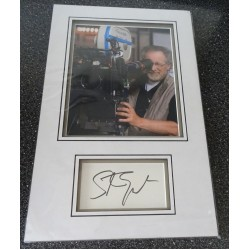 Steven Spielberg authentic signed genuine autograph photo display
