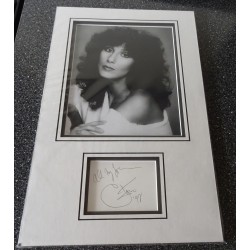 Cher authentic signed genuine autograph photo display