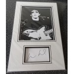 Lou Reed authentic signed genuine autograph photo display