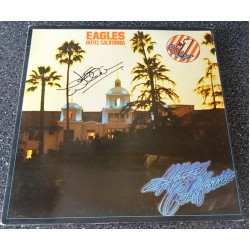 Joe Walsh Eagles Hotel California authentic signed genuine autograph vinyl record album