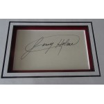 Larry Holmes Boxing authentic signed genuine autograph photo display