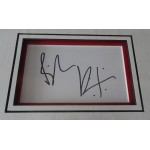 Billy Idol authentic signed genuine autograph photo display