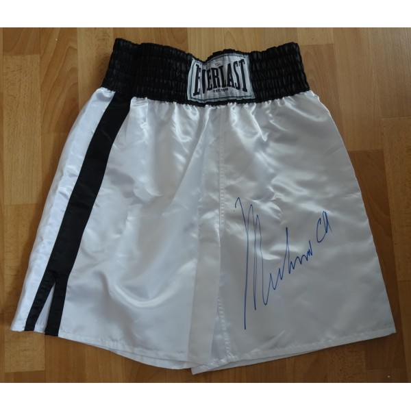 Muhammad Ali Everlast shorts authentic signed genuine autograph OA certified