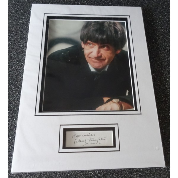 Patrick Troughton Doctor Who authentic signed genuine autograph photo display