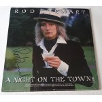 Rod Stewart authentic signed genuine autograph vinyl record album