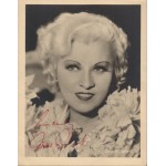 Mae West authentic signed genuine autograph vintage photo