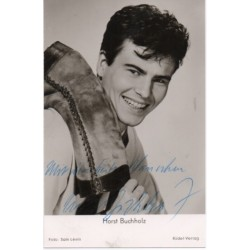 Horst Buchholz authentic signed genuine autograph vintage photo