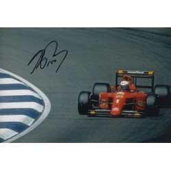 Alain Prost Ferrari F1 authentic signed genuine autograph photo 6