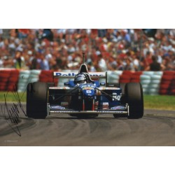 Damon Hill Williams F1 authentic signed genuine autograph photo 2