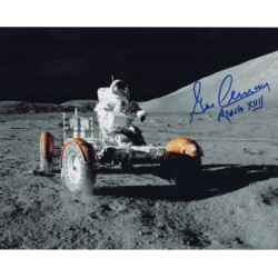 Gene Cernan Apollo authentic signed genuine autograph photo