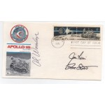 Apollo 15 Jim Irwin Dave Scott Worden autograph authentic genuine signed cover