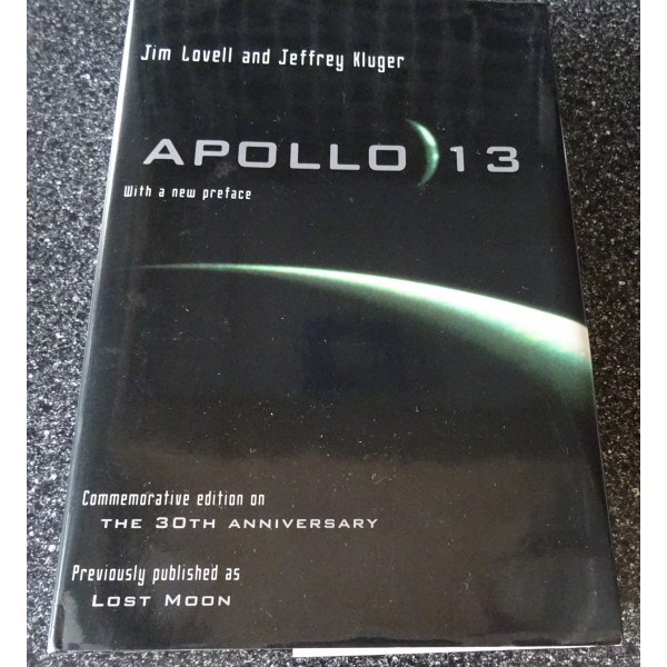 James Jim Lovell Apollo 13  authentic signed genuine autograph book