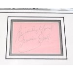SOLD Diana Dors genuine authentic signed autograph display