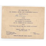 Stan Laurel and Oliver Hardy signed authentic genuine signature autograph ticket invitation