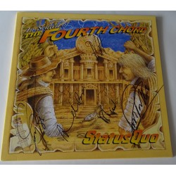Status Quo Rossi Rick Parfitt authentic signed genuine autograph vinyl record album
