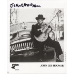 John Lee Hooker rare authentic genuine signed photo