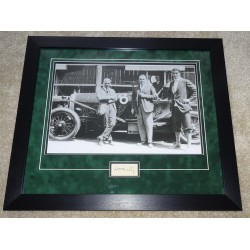 W O Bentley authentic genuine signature photo display