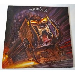 Motorhead Lemmy Kilmister authentic genuine signature vinyl album cover