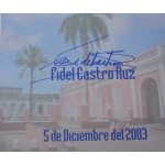 Fidel Castro authentic genuine signature signed document
