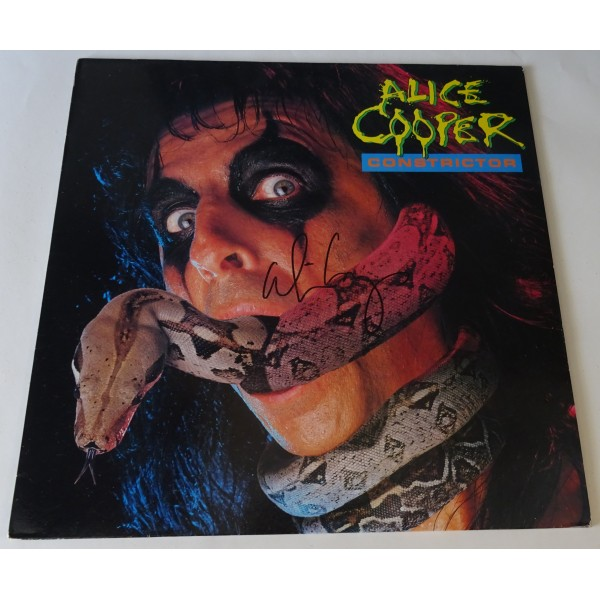 "Alice Cooper authentic genuine signature signed 12"" Vinyl"