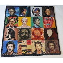 "Peter Blake the Who 'Face Dances'  authentic genuine signature signed 12"" vinyl record sleeve"
