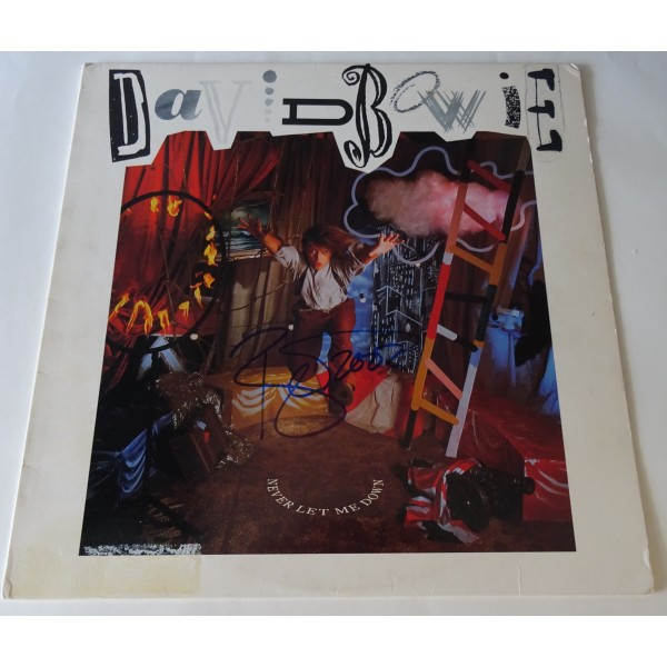"David Bowie authentic genuine signature signed 12"" Vinyl"