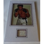 Muhammad Ali authentic genuine signature signed quote display photo 2