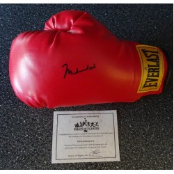 Muhammad Ali authentic genuine signature signed adult boxing glove