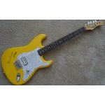 Mike Rutherford Genesis authentic signed genuine autograph guitar