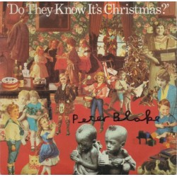 "Peter Blake ""Do they Know its Christmas"" authentic genuine signature signed 7"" Vinyl"