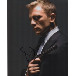 Daniel Craig James Bond 007 signed genuine autograph photo 5