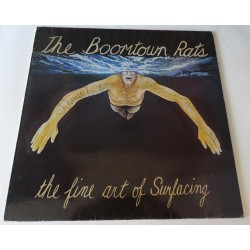 "Boomtown Rats Bob Geldof authentic genuine signature signed 12"" Vinyl"