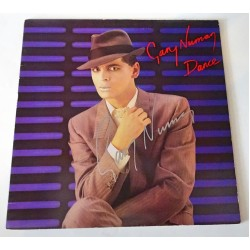 Gary Numan authentic genuine signature signed vinyl album cover