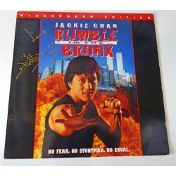 Jackie Chan authentic genuine signature laser disc cover
