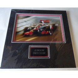 Jenson Button authentic genuine signed autograph photo display