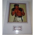 Muhammad Ali authentic genuine signature signed autograph display photo