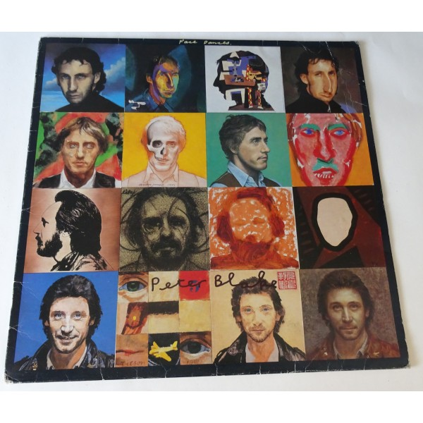 """Peter Blake the Who 'Face Dances'  authentic genuine signature signed 12"""" vinyl record sleeve"""