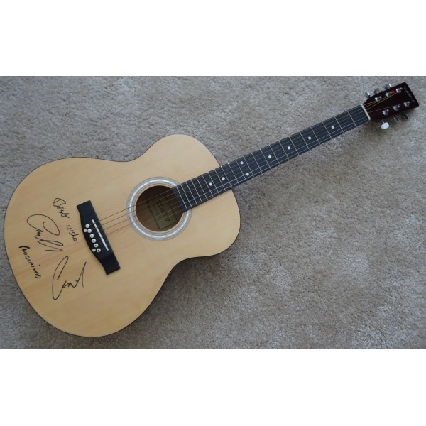 Proclaimers Charlie Craig Reid authentic signed genuine autograph guitar