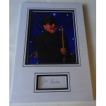 Van Morrison authentic genuine signature signed autograph display photo