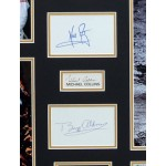Apollo XI Neil Armstrong Collins Aldrin genuine signature authentic photo display