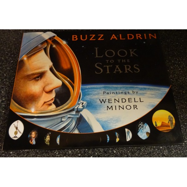 Buzz Aldrin genuine original autograph signed children's book