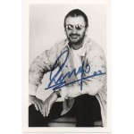 Ringo Starr Beatles signed genuine authentic autograph photo